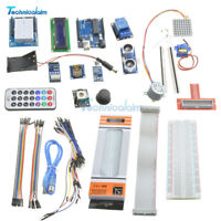SG90 Ultimate UNO R3 Starter Kit for Arduino 1602 LCD Servo Motor Relay RTC