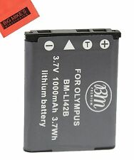 BM LI-42B Battery for Olympus Stylus 7030 7040 Tough 3000, TG-310, TG-320, VR310