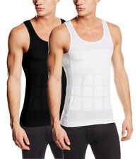 SODACODA Men's Firm Tummy Belly Control Slimming Body Shaper Vest Undershirt