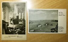 2 Vintage Postcards BEEKMAN TOWER 3 Mitchell Place NYC - THE PANHELLENIC OASIS