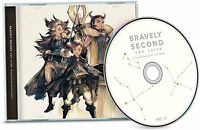 Bravely Second End Layer Collector's Edition Audio Disc Music CD Soundtrack