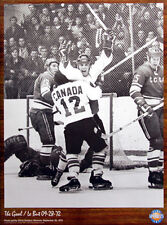 PAUL HENDERSON WINNING GOAL 1972 Canada-Russia Summit Series Official POSTER