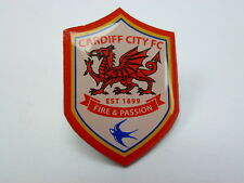 CARDIFF CITY FOOTBALL CLUB OFFICIAL LAPEL PIN BADGE