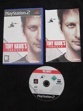 PS2 : TONY HAWK'S PROJECT 8 - Completo !