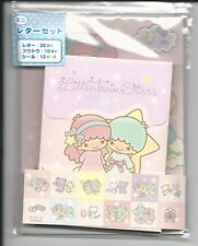 Sanrio Little Twin Stars Mini Stationery Set With Stickers Elephant Bear