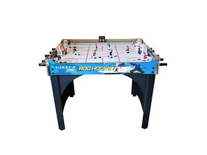 """ManCave Games 40"""" Deluxe Rod Hockey Game Table - Free Shipping & Games In Stock"""