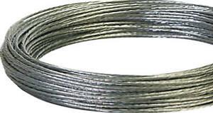 Hillman 122339 Solid Galvanized Wire 100', 12 Gauge