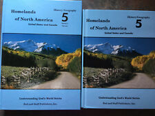 Rod & Staff - Homelands of North America - G. 5, Student & Teacher's Manual