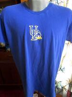 LARGE True Vtg 90s UNIVERSITY OF DELAWARE BLUE HEN RELIC GRAPHIC T-shirt hanes