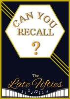 Can You Recall?-The Late Fifties/Dementia/Puzzle book