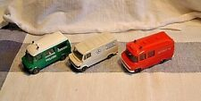 Wiking  3 Mercedes Benz Light Commercials. Excellent Condition  1=87 Not boxed.