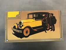 Avon 1926 Checker Cab Mens After Shave