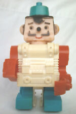 ding a lings  topper toys  chef  vintage 1970s toys  space robot toys