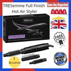TRESemme Full Finish Hot Air Styler 3 Brushes 300W Curl Release Button Curl Hair