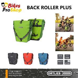 ORTLIEB Back Roller PLUS (Pair) - Bike Bicycle Panniers Bags GERMANY 2021