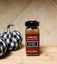 Trader Joe's Pumpkin Pie Spice 1.8 oz (51g) Holiday Essential-Factory Sealed