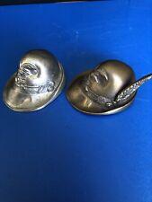 Pair of Alpine One Brass Other Aluminium. Nice Itums