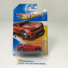 '12 Camaro ZL1 #9 * RED * 2012 Hot Wheels * S31