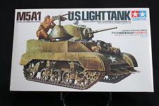 XD007 TAMIYA 1/35 maquette tank char 35097 800 US light tank M5A1 1977 vintage
