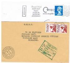 Machine Cancel Elizabeth II (1952-Now) Used Great Britain Postal History
