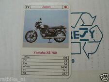 15-MOTOREN F2 YAMAHA XS750 BIKE  KWARTET KAART MOTORCYCLES, QUARTETT