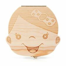 Baby Tooth Box and Tooth Holder,Tooth Fairy Box Special for Kids Keepsake