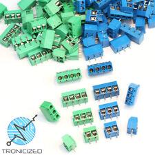 Tornillo de bloque terminal de PCB Conector 4 Pin 3 Pin 2 Pin KF301-2P