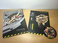 Press Release GRAHAM Chronofighter Trigger Tourbillograph Collection - Watches