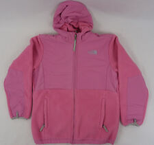 The North Face Girls YOUTH KIDS Denali Hoodie Jacket Aurora Pink NWOT 119$ XL