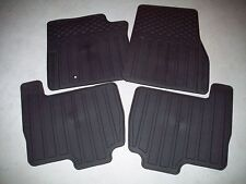 2003 2004 2005 2006 FORD EXPEDITION ALL WEATHER FLOOR MATS BLACK 4 PIECE SET
