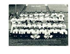 1949 OAKLAND OAKS 8X10 TEAM PHOTO BILLY MARTIN  BASEBALL PCL  USA  CALIFORNIA