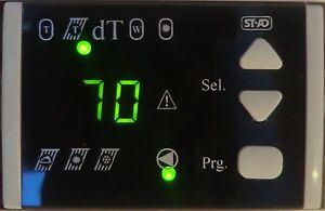 Temperaturdifferenzregler DT-3.1 für Solar und Festbrennstoffanlagen geeignet