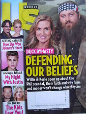 DUCK DYNASTY - DEFENDING OUR BELIEFS February 3, 2014 Us Weekly  JUSTIN BIEBER