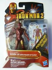 Iron Man 2 - (Blister) -  Iron Man - Mark VI with Power-Up Glow