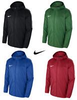 Nike Boys Jacket Coat Rain Junior Lightweight Waterproof Hoodie Wind Stopper