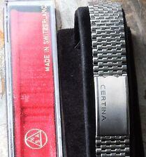 Certina beads links NSA vintage watch bracelet 1960s/70s NOS steel Swiss 4 sold