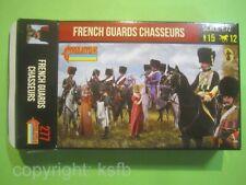 NEU 1:72 Strelets #277 Napoleon Frankreich Garde Chasseure zu Pferd + Kaiser etc