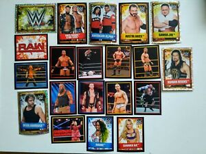 WWE 2017 Ultimate Collection Stickers - Pick Any 8 for £3.99 *READ DESCRIPTION*