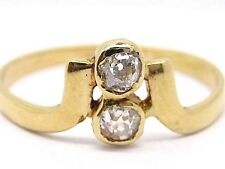 Pre-owned Ladies Diamonds 0.20ct. Yellow Gold 18Carat Ring Size O