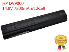 12 cell battery for HP Pavilion dv9000 dv9100 dv9200 dv9500 dv9600 dv9700 dv9700