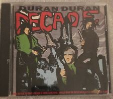Duran Duran. Decade. Best Of Compilation. 1989. 14 Track CD album. Capital.