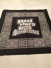 Grand Theft Auto San Andreas Bandana Brand New