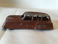 Vtg Collectible Die Cast Tootsie Toy? Unmarked Car Brown Made In U.S.A