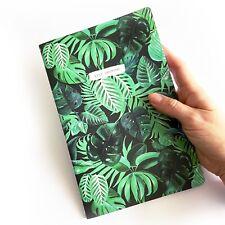 Green Botanical Tropical Jungle Keep Growing A5 Notebook Journal - Sass & Belle