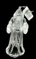 "Vintage Acrylic 5"" First Santa Christmas Ornament NWT"