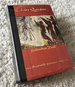 Don Quixote DALI ILLUSTRATIONS 1946 Modern Library CERVANTES