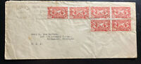 1927 Paris France Slogan Cancel Cover To Kalamazoo MI USA American Legion Stamps