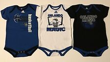 NBA Orlando Magic Basketball Adidas Infant Creeper Set, Bodysuit, 24 Months