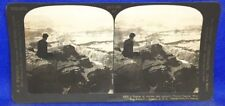 Arizona Grand Canyon West from Rowe Point H.C. White Stereoview