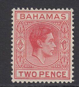 Bahamas KGVI 1938/52 2d variety short T SG152ba Mounted mint